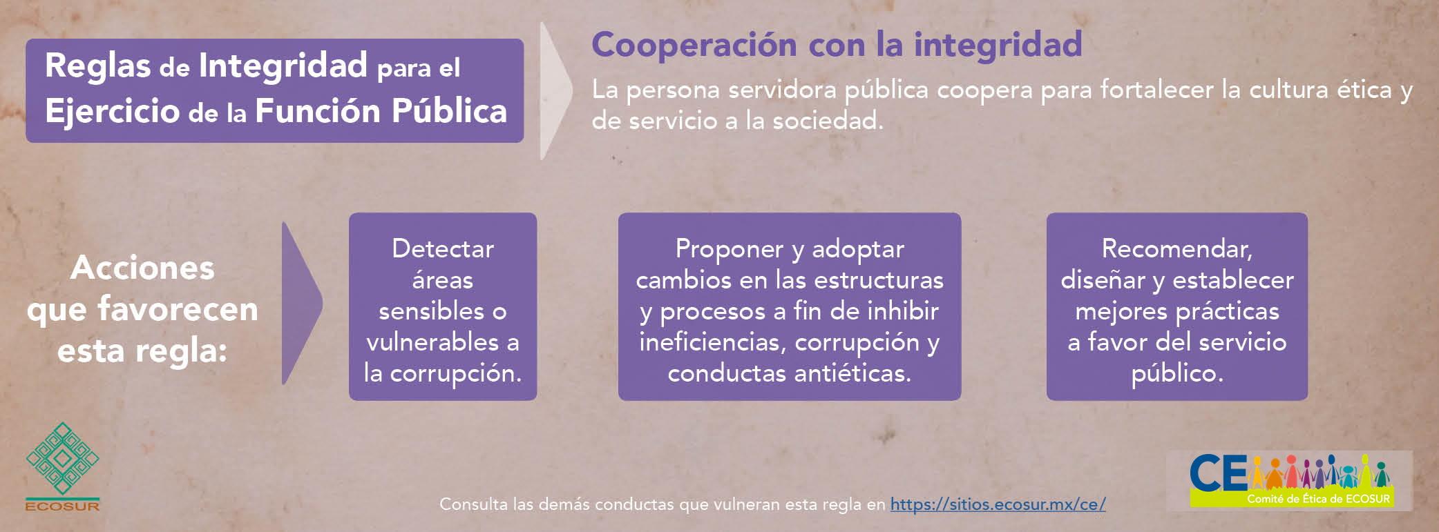 Cooperación con la integridad